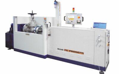 BO30-CV/40P: Banco prova orizzontale con serraggio combinato: tenuta radiale interna + serraggio proporzionale