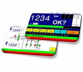 Nuovo! Pannello di controllo da banco valvola Mod. Ska-100/w!